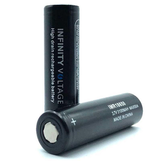 Infinity Voltage Batterie 18650 - 3100 mAh, 50A MAX (2er-Pack)