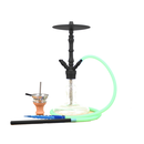 Smokah Shisha Devil Night Green Alu Black