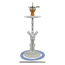 Smokah Shisha Devil Night Blue Alu Silver